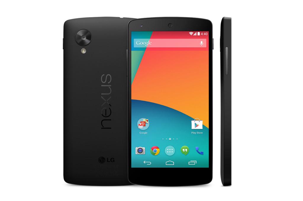 Nexus 5 - zdjęcie prasowe