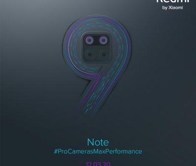 Xiaomi remi note 9